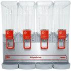 Cecilware Arctic Economy 20/4PE Quadruple 5.4 Gallon Bowl Premix Cold Beverage Dispenser