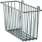 Metro H212-DSG Smoked Glass Storage Basket for Wire Shelving 17 3/8 inch x 7 1/2 inch x 10 inch