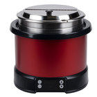 Vollrath 74110140 Mirage 11 Qt. Red Induction Rethermalizer - 120V, 800W