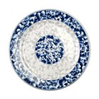 Thunder Group 1007DL Blue Dragon 6 7/8 inch Round Melamine Plate - 12/Pack