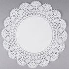 Hoffmaster 500238 10 inch Cambridge Lace Doily   - 1000/Case