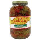 Del Sol 1 Gallon Cut Sweet Peppers