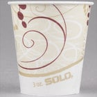 Solo R3-J8000 Symphony 3 oz. Wax Treated Paper Cold Cup - 5000/Case