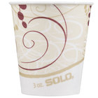 Dart Solo R3-J8000 Symphony 3 oz. Wax Treated Paper Cold Cup - 5000/Case