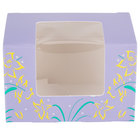 Easter Egg Box 1/4 lb. Window Candy Box 3 5/8 inch x 2 3/8 inch x 2 3/8 inch - 250/Case