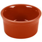 Homer Laughlin 568334 Fiesta Paprika 8 oz. Ramekin - 6 / Case