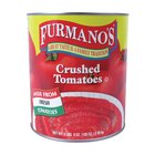 Furmano's #10 Can Crushed Tomatoes - 6/Case