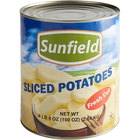 Sliced White Potatoes #10 Can