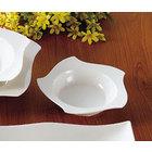 CAC STA-108 Fashionware 10 oz. Bone White Five Star Porcelain Pasta Bowl - 24/Case