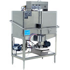 CMA Dishmachines CB-2L Double Rack Low Temperature, Left Door Configuration, Chemical Sanitizing Corner Dishwasher - 115V