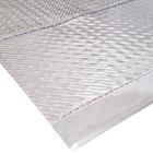 Cactus Mat 3545F-4 Gripper 4' Wide Special Cut Clear Vinyl Carpet Protection Runner Mat - 1/16