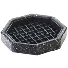Cal-Mil 310-6-31 6 inch Black Ice Octagonal Drip Tray