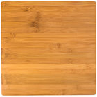 American Metalcraft BAM141 Square Bamboo Platter - 14 3/8