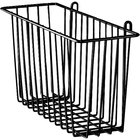 Metro H212-DBM Black Matte Storage Basket for Wire Shelving 17 3/8 inch x 7 1/2 inch x 10 inch