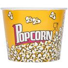Carnival King 85 oz. Popcorn Bucket - 150/Case