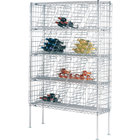 16 Case Metro WB257C Super Erecta Bulk Wine Rack 48