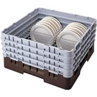 Cambro CRP12910167 Brown Full Size PlateSafe Camrack 9-10 1/2 inch