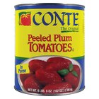 #10 Can Whole Peeled Plum Tomatoes in Puree   - 6/Case