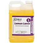 Noble Chemical 2.5 Gallon / 320 oz. Lemon Lance Lemon Disinfectant & Detergent Cleaner - 2/Case