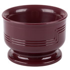 Cambro MDSB5487 Cranberry Insulated 5 oz. Bowl - Shoreline Meal Delivery System 12 / Pack