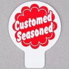 Custom Seasoned