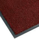 Notrax 130 Sabre 4' x 60' Crimson Roll Carpet Entrance Floor Mat - 3/8 inch Thick