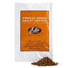 Ellis Freeze Dried Decaf Coffee Packet - 100/Box
