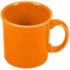 Homer Laughlin 570325 Fiesta Tangerine 12 oz. Java Mug - 12 / Case