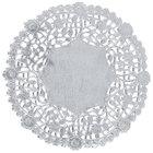 5 inch Silver Foil Lace Doily - 1000/Case
