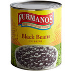Furmano's Fancy Black Beans in Brine #10 Can