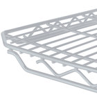 Metro 1436QBR qwikSLOT Super Erecta Brite Wire Shelf - 14
