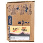 Fox's Bag In Box Diet Cola Beverage / Soda Syrup - 5 Gallon