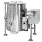 Cleveland KGL-25-T Liquid Propane 25 Gallon Tilting 2/3 Steam Jacketed Kettle - 90,000 BTU