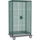 Metro SEC56LK3 Metroseal 3 Mobile Heavy Duty Wire Security Cabinet - 63 1/8 inch x 28 1/16 inch x 68 1/2 inch