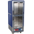 Metro C539-CDC-L-BU C5 3 Series Heated Holding and Proofing Cabinet with Clear Dutch Doors - Blue