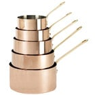 De Buyer 6445.16 1.9 Qt. Copper Sauce Pan