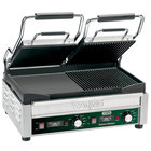 Waring WDG300T Panini Sandwich Grill with Two Grooved Plates, Two Smooth Plates, and Timer - 17