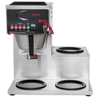 Grindmaster B-3WR PrecisionBrew Digital 64 oz. Automatic Coffee Brewer with 3 Warmers - Right Side