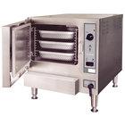 Cleveland 22CGT3.1 SteamChef 3 SST 3 Pan Gas Countertop Steamer - 32,000 BTU