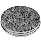 Ateco 6949 26-Piece 1 inch Tin Alphabet Cutter Set (August Thomsen)