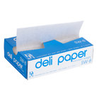 Durable Packaging 8 inch x 10 3/4 inch Interfolded Deli Wrap Wax Paper