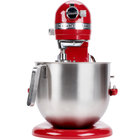 KitchenAid KSM8990ER Empire Red NSF 8 Qt. Bowl Lift Commercial Countertop Mixer - 120V, 1 3/10 hp