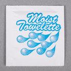 4 inch x 6 inch Lemon Scented Moist Towelette / Wet Nap - 1000/Case