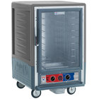 Metro C535-MFC-4-GY C5 3 Series Heated Holding and Proofing Cabinet with Clear Door - Gray