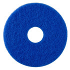 Scrubble by ACS 53-10 Type 53 10 inch Blue Cleaning Floor Pad - 5/Case