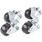 Traulsen CASTER-SET3IN 3 1/2 inch Swivel Casters for 27 inch, 32 inch and 48 inch U-Series Refrigerators and Freezers - 4/Set