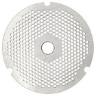 Hobart 3246PLT-3/16C #32 3/16 inch Carbon Steel Grinder Plate for 4146, 4246, 4732, MG2032, and MG1532 Meat Grinders / Choppers