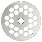 Hobart 22PLT-1/2C #22 1/2 inch Carbon Steel Grinder Plate for 4822 Meat Choppers and Chopping Ends