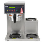 Curtis ALP3GTR63A000 12 Cup Coffee Brewer with 3 Lower Warmers on Right - 120/220V