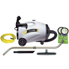 ProTeam 107151 10 Qt. QuietPro CN HEPA Canister Vacuum with 107099 Xover Performance Floor Tool Kit C and HEPA Filtration System - 120V